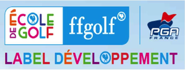 label ecole de golf